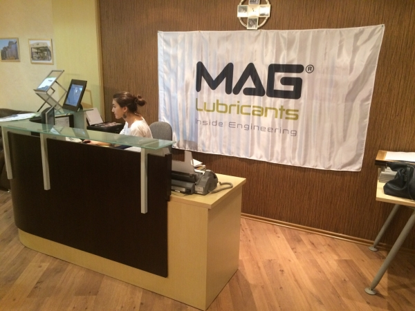 MAG Lube UNVEILED in Kazhakhstan